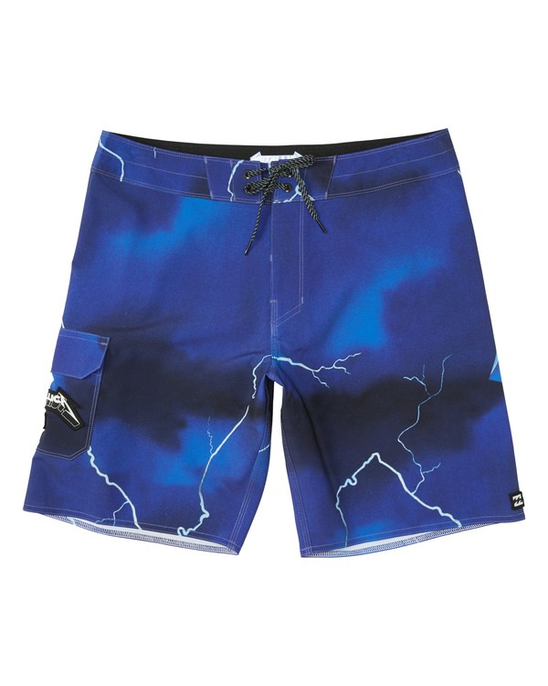 0 Ride The Lightning Boardshorts Purple M1541BRL Billabong