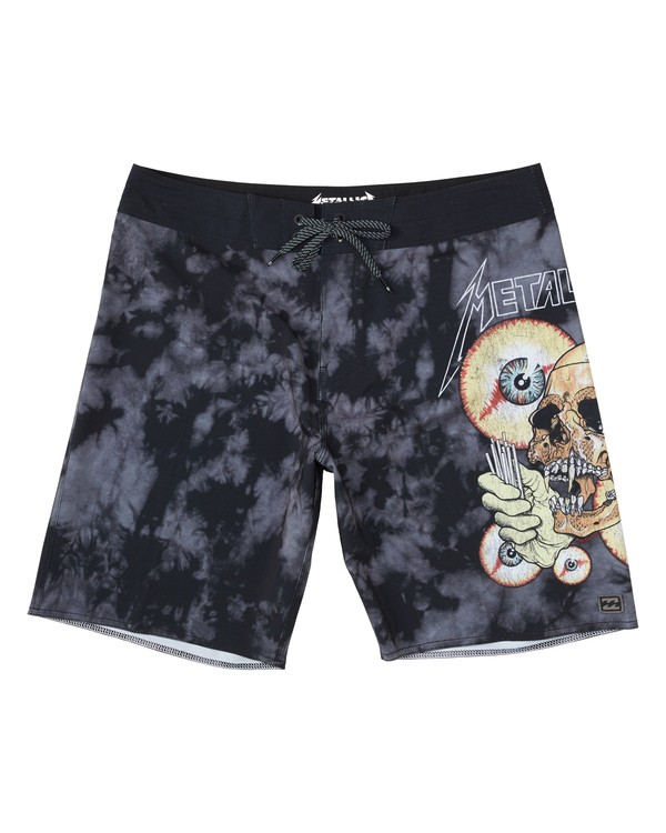 0 Metallica Shortest Straw Boardshorts  M1551BSS Billabong
