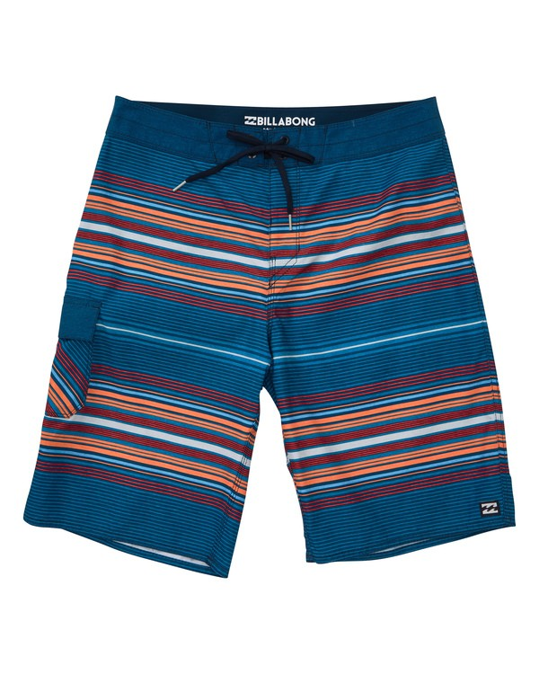 0 All Day Stripe OG Boardshorts Blue M160TBAD Billabong