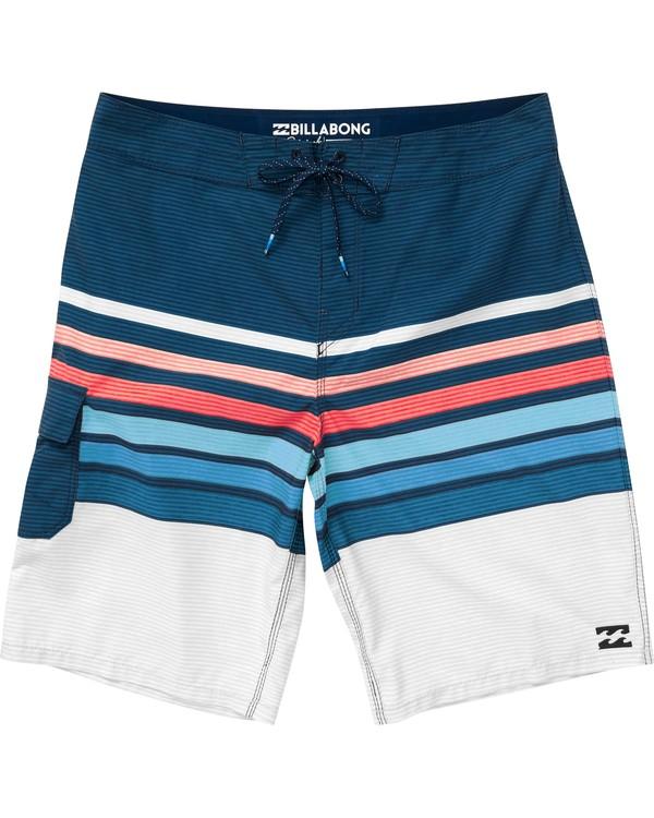 0 All Day OG Stripe Boardshorts Blue M165NBAS Billabong