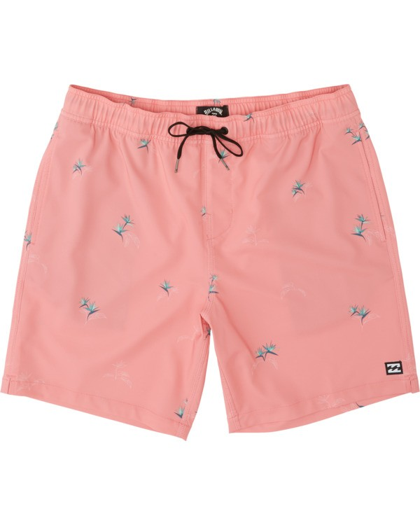 0 Sundays Layback Boardshorts Pink M1801BSB Billabong