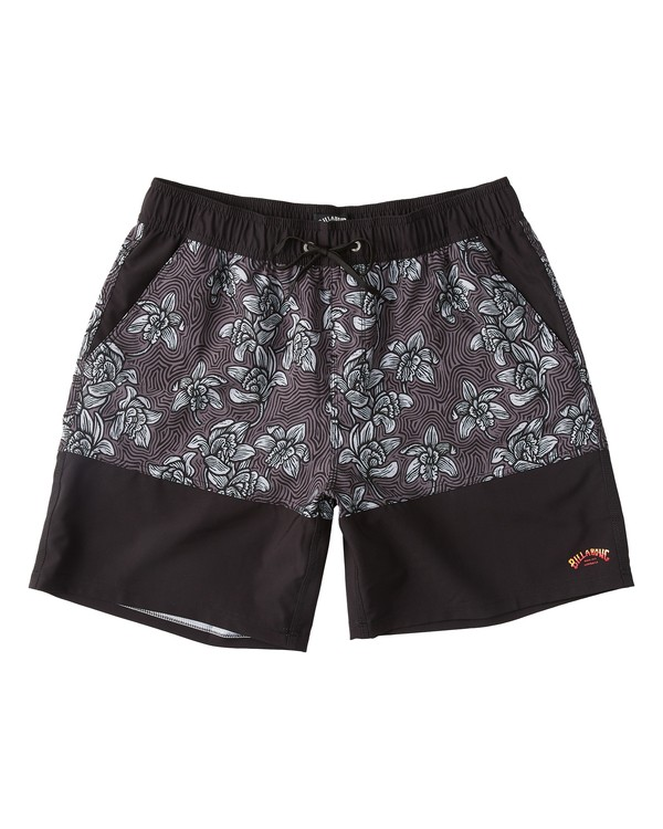 0 Sun Down Layback Boardshorts Black M1801BSE Billabong