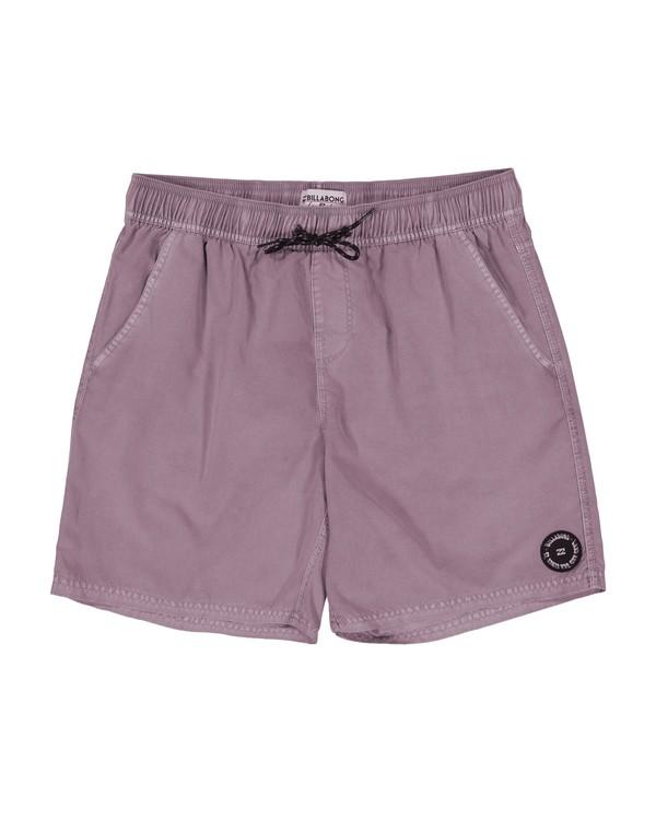 0 All Day Overdye Layback Boardshorts Pink M1802BAE Billabong