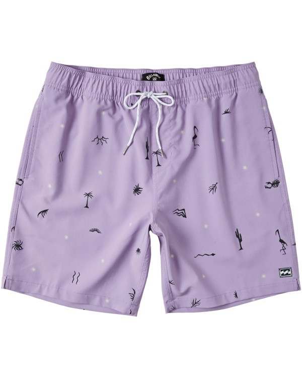 0 Sundays Layback Boardshorts Purple M1803BSB Billabong