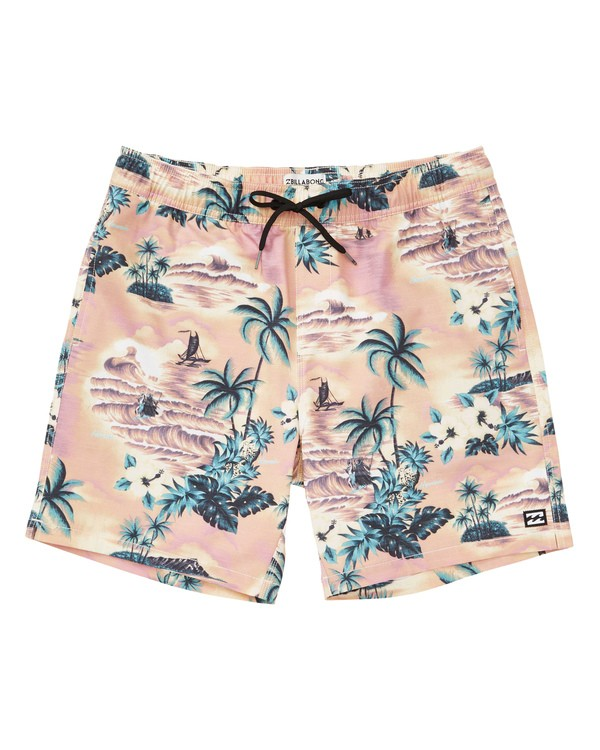 0 Sundays Layback Boardshorts Pink M180TBSU Billabong