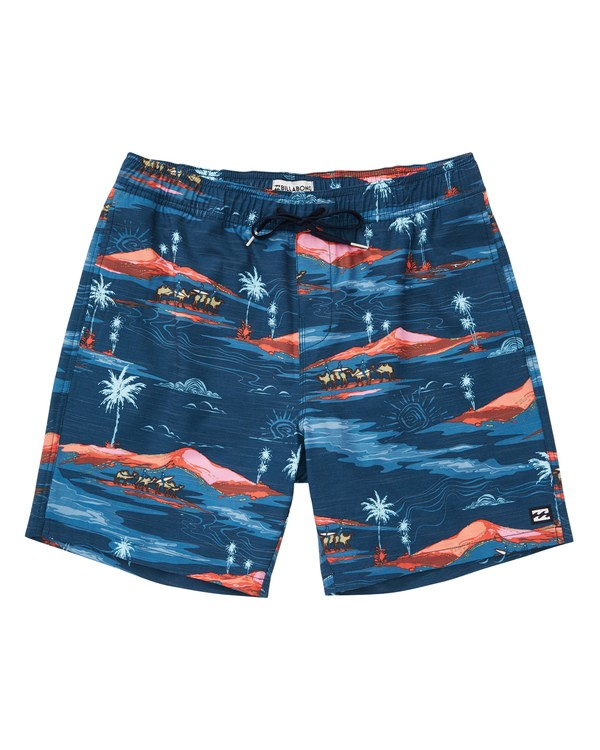 0 Sundays Layback Boardshorts Blue M180TBSU Billabong