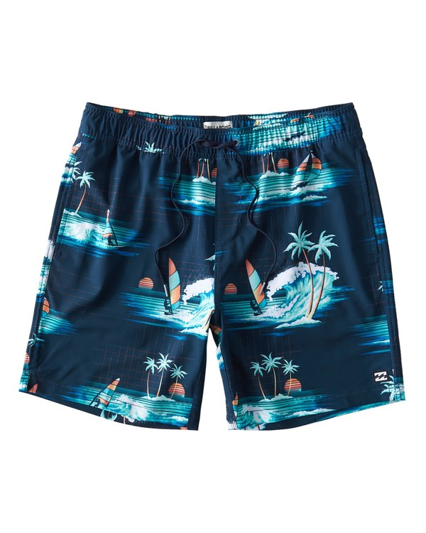 0 Sundays Layback Boardshorts Blue M180VBSU Billabong