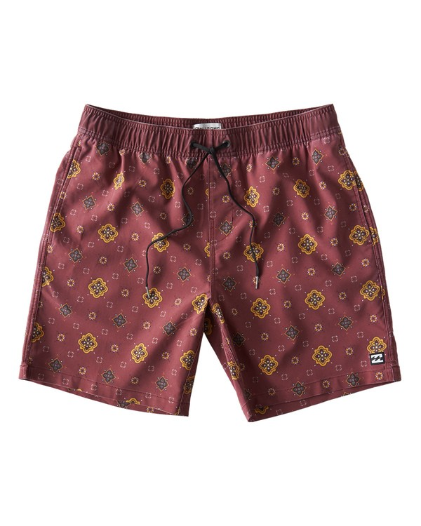 0 Sundays Layback Boardshorts Brown M180VBSU Billabong