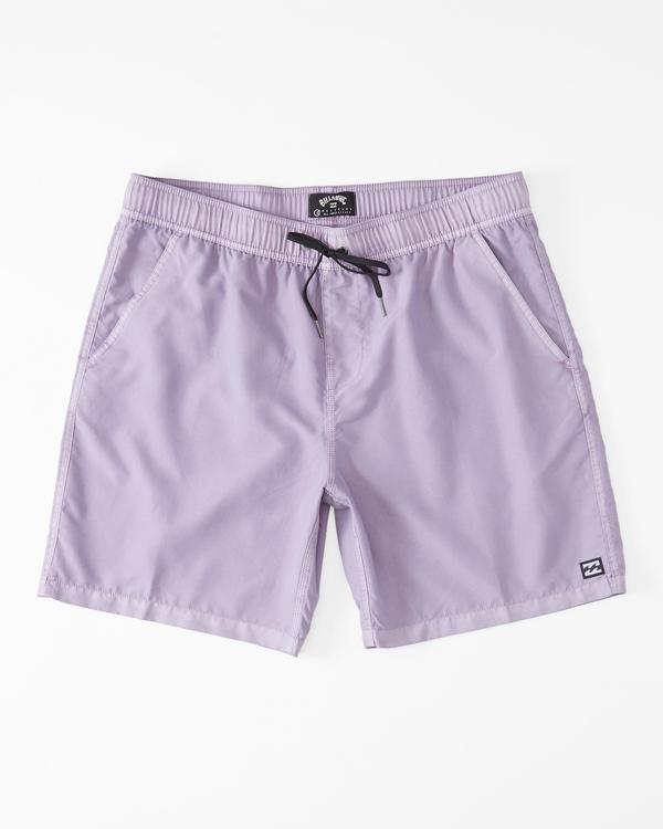 "0 All Day Overdye Layback Boardshorts 17"" Purple M1821BAB Billabong"