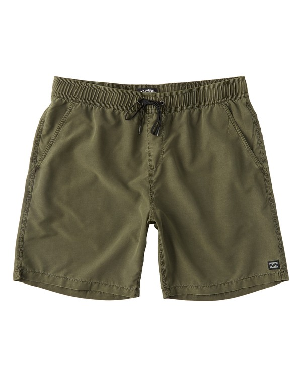 0 All Day Overdye Layback Boardshorts Green M1821BAB Billabong