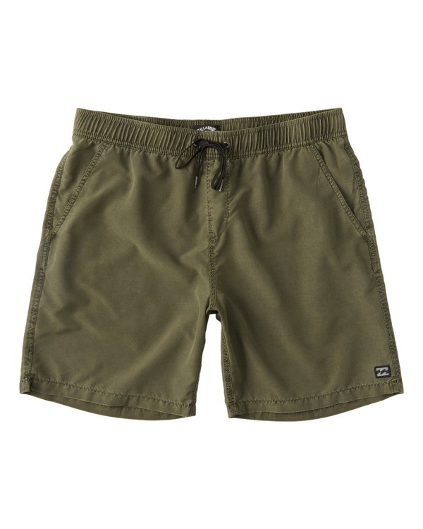 "0 All Day Overdye Layback Boardshorts 17"" Green M1821BAB Billabong"