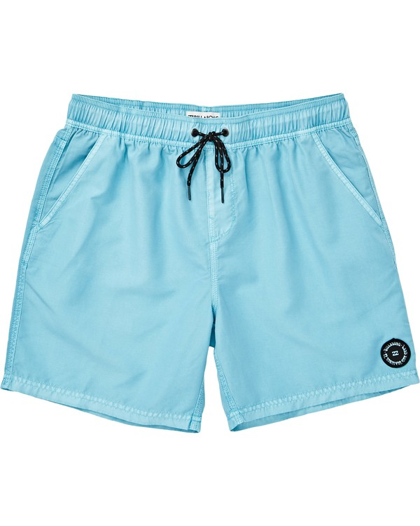 0 All Day Overdye Layback Boardshorts Blue M182QBOE Billabong