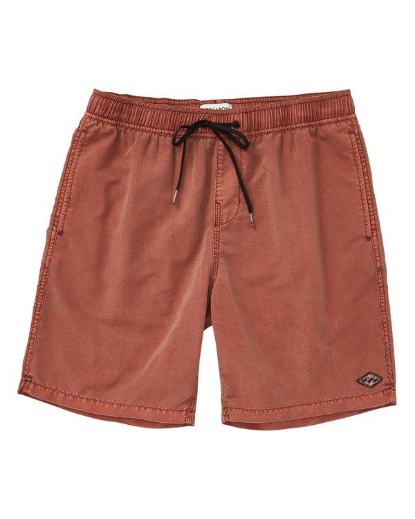 0 All Day Layback Boardshorts Brown M182TBAD Billabong