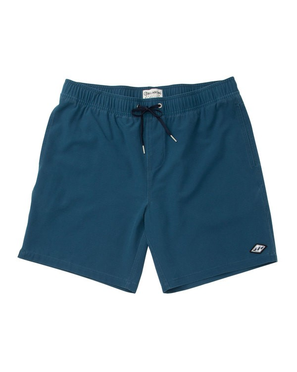 0 All Day Layback Boardshorts Blue M182TBAE Billabong