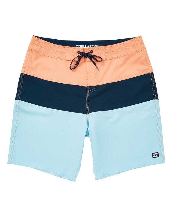 0 Tribong Solid Pro Boardshorts Orange M183TBTP Billabong