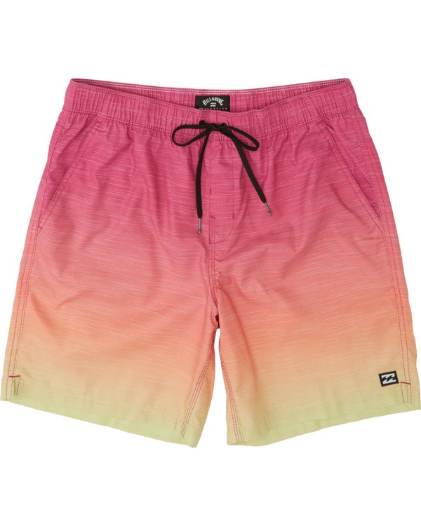 0 All Day Fade Layback Boardshorts Orange M1841BFB Billabong