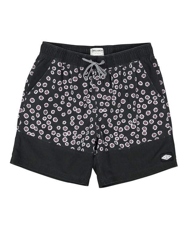 0 Daisy Split Layback Shorts Black M185WBDR Billabong