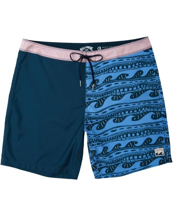 0 Halfrack Originals  Boardshorts Blue M1943BSP Billabong