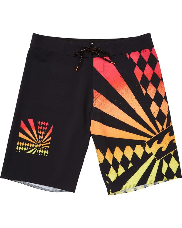 0 Rising Sun Boardshorts Black M195TBAI Billabong