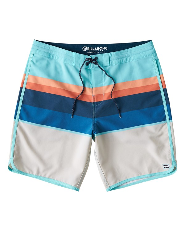 0 73 Stripe LT Boardshorts Green M198VBSP Billabong