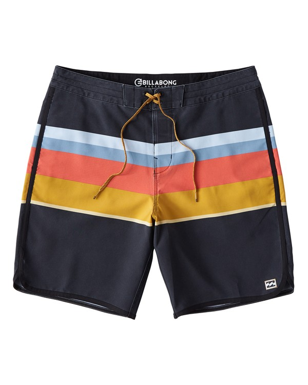 0 73 Stripe LT Boardshorts Blue M198VBSP Billabong