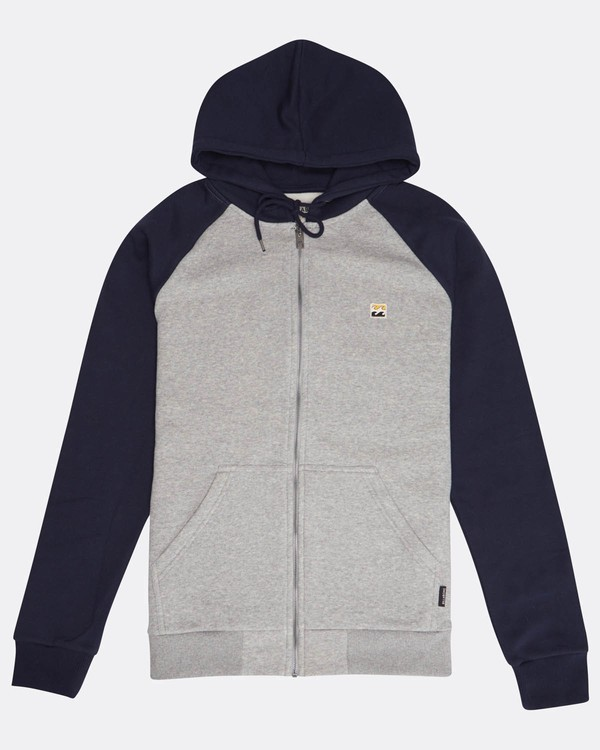 0 Originals Zip Hoodie Gris M1FL06BIW8 Billabong