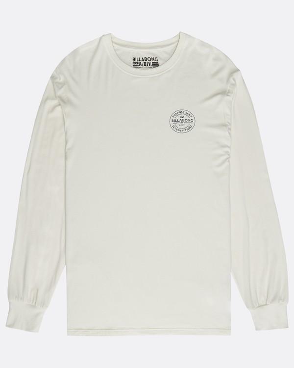 0 Emblem Tee Long Sleeve T-Shirt  M1LS05BIW8 Billabong