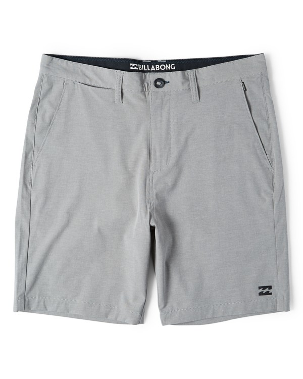 0 Crossfire X Mid Length Submersibles Shorts Grey M201VBCM Billabong