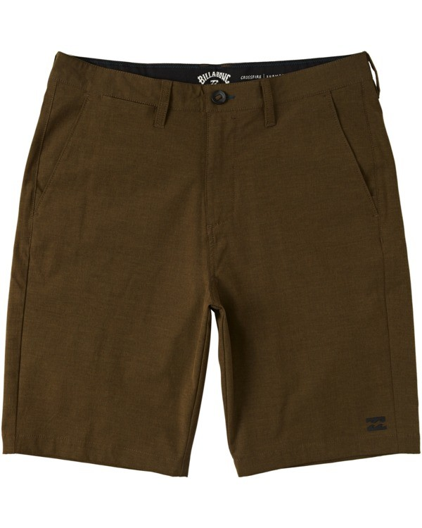 "0 Crossfire Submersible Short 21"" Brown M2021BCX Billabong"