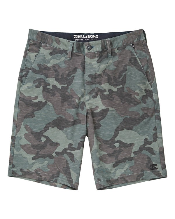0 Crossfire X Slub Submersible Shorts Camo M203NBCS Billabong