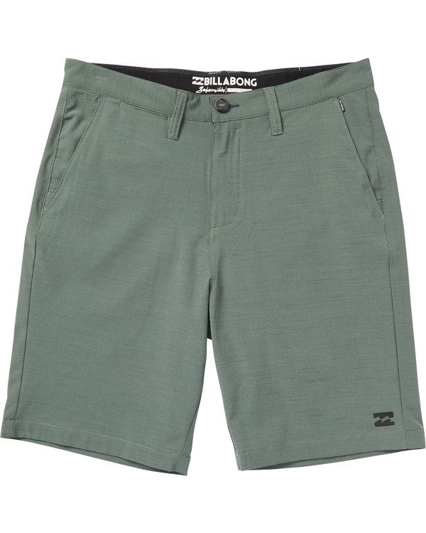 0 Crossfire X Slub Submersible Shorts Green M203NBCS Billabong