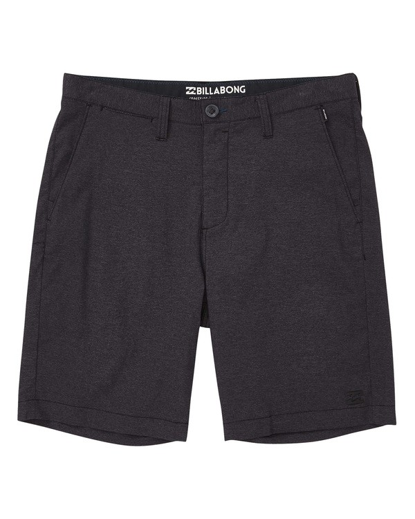0 Crossfire X Micro Shorts Black M205TBCM Billabong