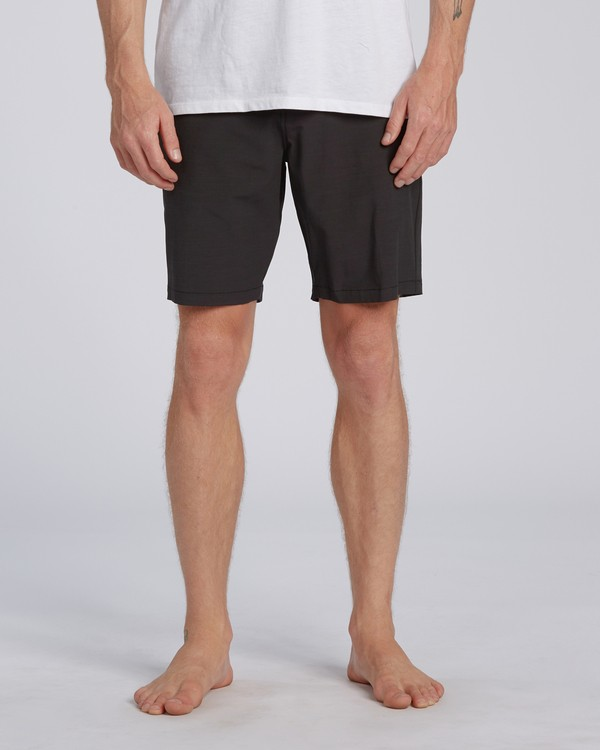 "0 New Order Slub Submersible Short 19"" Black M2071BNS Billabong"