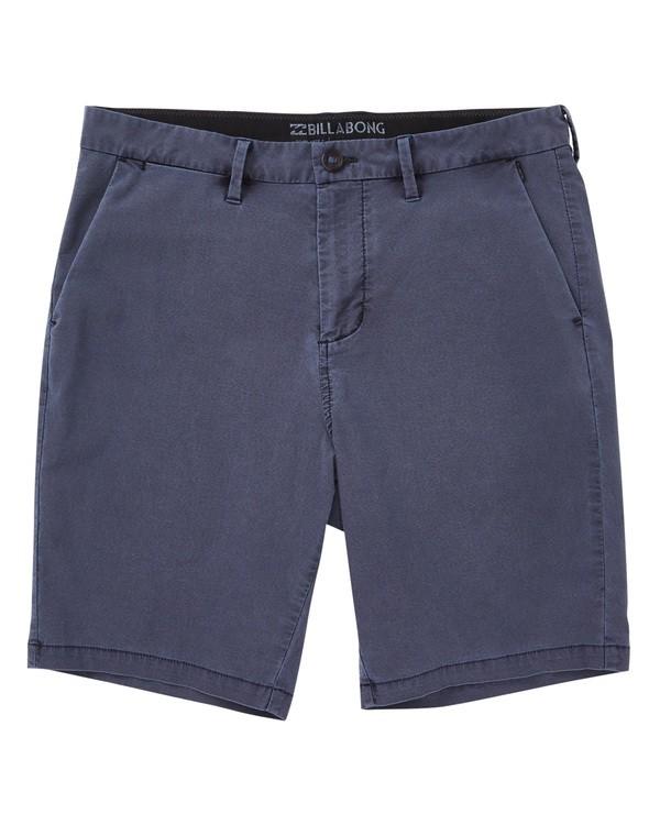 0 New Order X Overdye Shorts Blue M207TBNO Billabong
