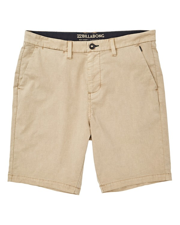 0 New Order X Overdye Shorts Beige M207TBNO Billabong