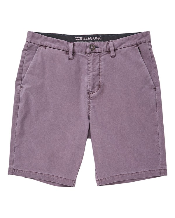 0 New Order X Overdye Shorts Purple M207TBNO Billabong