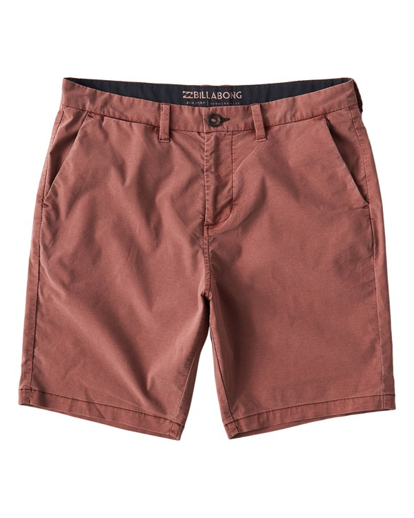 0 New Order X Overdye Shorts Red M207VBNO Billabong