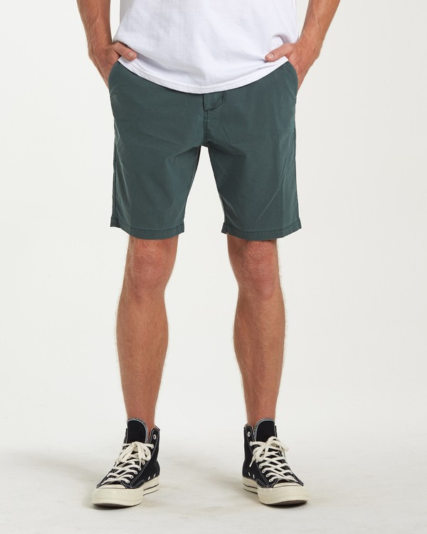 0 New Order X Overdye Shorts Green M207VBNO Billabong