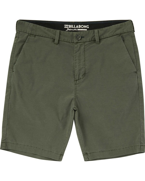 0 New Order X Overdye Submersibles Shorts Green M209NBNO Billabong