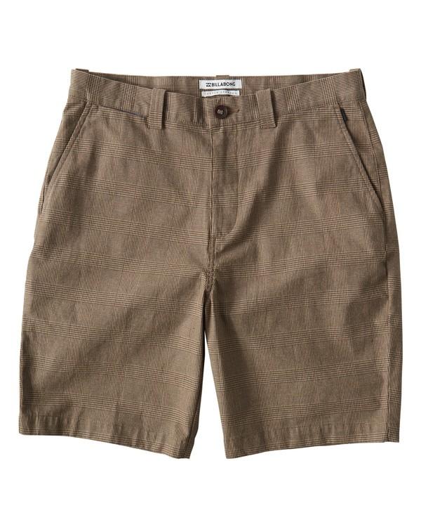 0 Carter Yarndye Shorts Grey M215VBCY Billabong