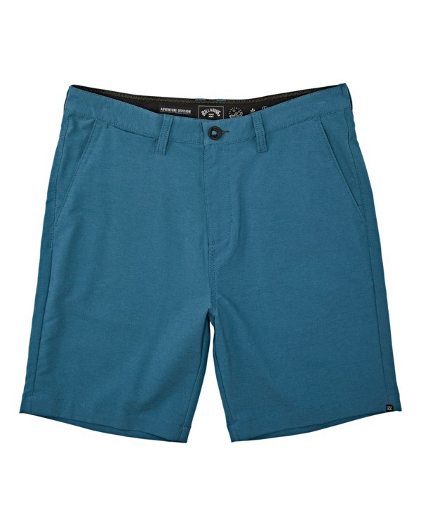 "0 A/Div Surftrek Wick Short 20"" Blue M2161BSW Billabong"