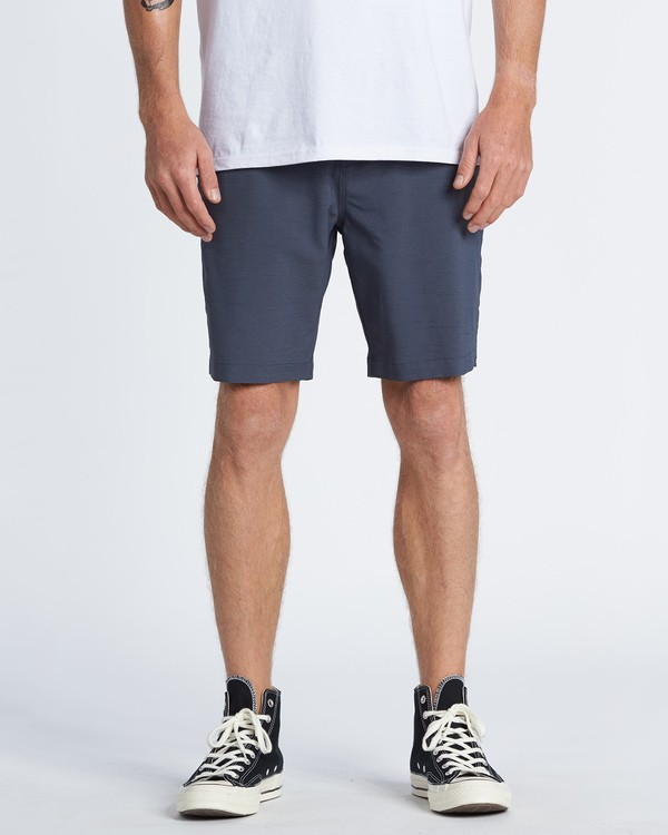 "0 Surftrek Wick Walkshort 20"" Blue M2161BSW Billabong"