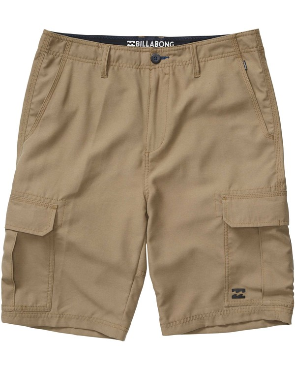 0 Scheme Submersible Shorts Green M218PBSC Billabong