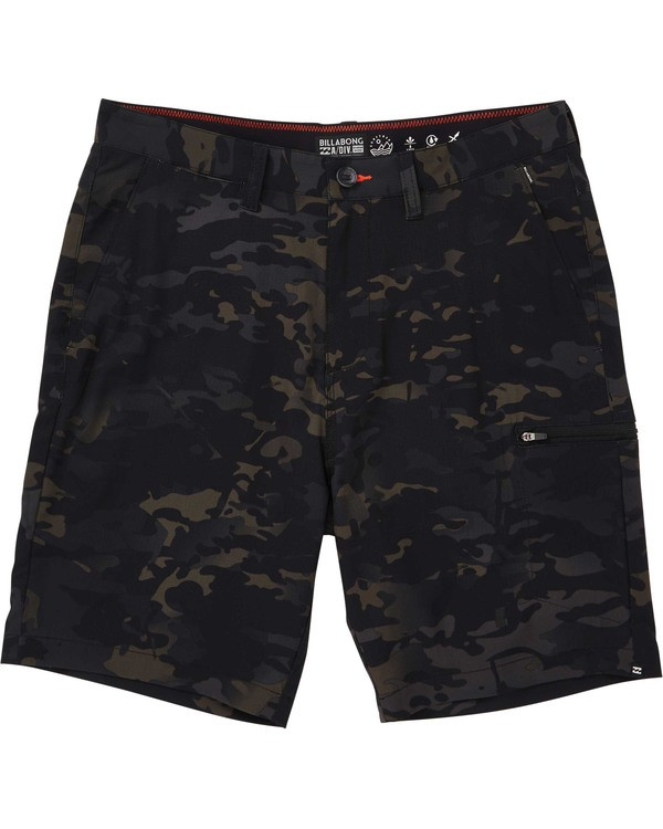 0 Surftrek Multicam Cargo Shorts Black M218TBBC Billabong