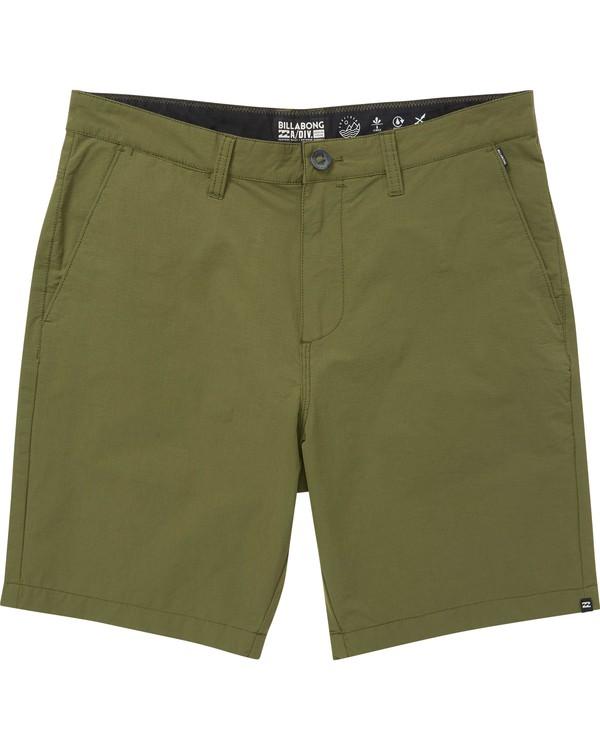 0 Surftrek Ripstop Shorts Green M219QBSR Billabong