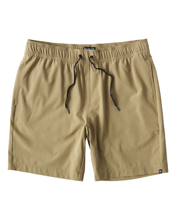 0 Surftrek Perf Elastic Shorts Brown M219VBSP Billabong