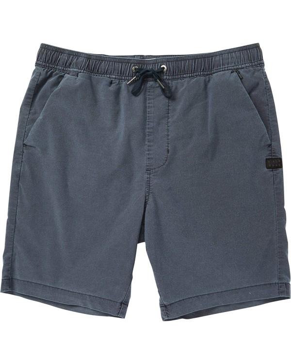 0 New Order Wave Wash Shorts Blue M232NBLO Billabong