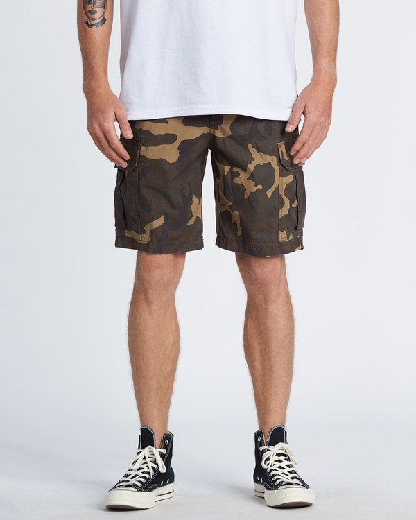 0 Scheme Cargo Shorts Green M2361BSC Billabong