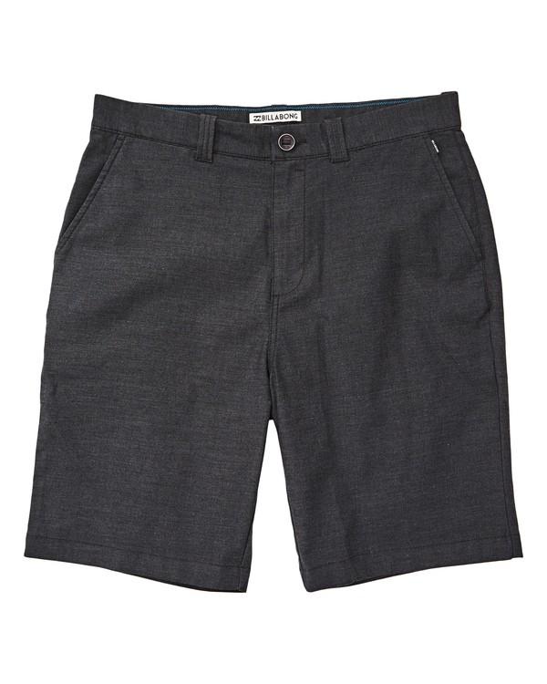 0 Carter Stretch Shorts Black M236TBCS Billabong