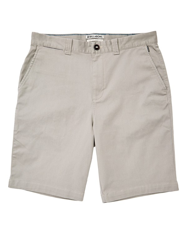 0 Carter Stretch Shorts Grey M236TBCS Billabong